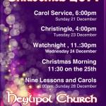 Carol Service 1